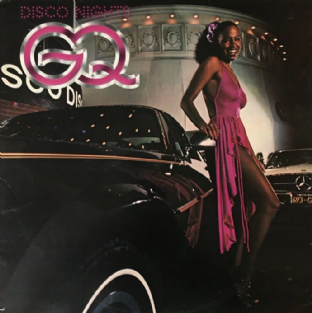GQ ‎- Disco Nights (LP) (VG-/VG-)